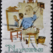 Norman Rockwell — Stock Photo