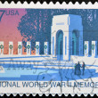 National wold war II memorial — Stock Photo