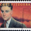 Stock Photo: F. Scott Fitzgerald Americauthor of novels and short stories