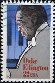 Duke ellington americano compositor, pianista e líder de big band — Foto Stock