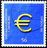 Symbol of the Euro — Stock Photo