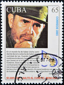 Fidel Castro — Stock Photo