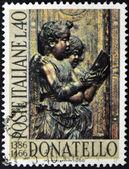 ITALY - CIRCA 1966: A stamp printed in Italy dedicated to Donatello, circa 1966 — Stock Photo