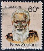 Te Ata O Tu, the Maori leader — Stock Photo