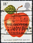 Philosophiae Naturalis Principia Mathematica, Sir Isaac Newton — Stock Photo