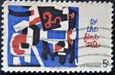 UNITED STATES OF AMERICA - CIRCA 1964: A stamp printed in the United States — Stock Photo