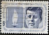 Portrait John Fitzgerald Kennedy — Stock Photo