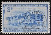 125 lat transportu kolejowego — Zdjęcie stockowe
