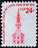 Old North Church in Boston — Stock Photo