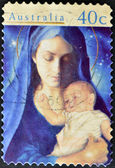 Madonna and Child — Stock Photo