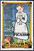 """""""Child with a pigeon"""" by Picasso — Zdjęcie stockowe"""
