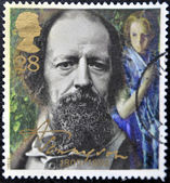 Alfred Lord Tennyson — Stock Photo