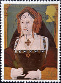 Catherine of Aragon, wife of king Henry VIII — Stock Photo