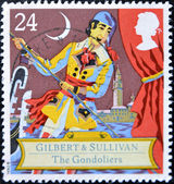 Scene from comic opera, the gondoliers by Gilbert and Sullivan — Stock Photo