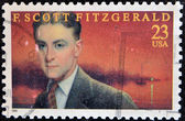 F. Scott Fitzgerald American author of novels and short stories — Stock Photo