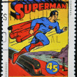 Stock Photo: CANAD- CIRC1995: stamp printed in Canadshows Comic Book Characters, Superman, circ1995