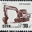 NORTH KOREA - CIRCA 1995: A stamp printed in DPR Korea shows — Stock Photo