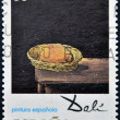 "SPAIN - CIRCA 1994: A stamp printed in spain shows the work ""bread basket"" of Salvador Dali, circa 1994 — Stock Photo"