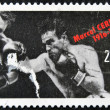 Stock Photo: FRANCE - CIRC1991: stamp printed in France shows Marcel Cerdan, circ1991