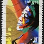 FRANCE - CIRCA 2002: A stamp printed in France shows Ella Fitzgerald, circa 2002 — Stock Photo #9444020