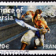FRANCE - CIRCA 2005: A stamp printed in France shows prince of Persia, circa 2005 — Stock Photo