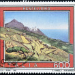 ITALY - CIRCA 1992: A stamp printed in Italy shows Pantelleria, circa 1992 — Stock Photo