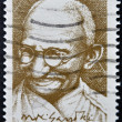 SOUTH AFRICAN - CIRCA 1995: A stamp printed in RSA shows Mahatma Gandhi, circa 1995 — Stock Photo