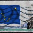 UNITED STATES OF AMERICA - CIRCA 2009: A stamp printed in USA dedicated to Alaska, circa 2009 - ストック写真