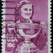 UNITED STATES OF AMERICA - CIRCA 1981: A stamp printed in USA shows Babe Zaharias, circa 1981 - ストック写真