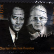 Stock Photo: UNITED STATES OF AMERIC- CIRC2009: stamp printed in USshows Charles Hamilton Houston and Walter White, circ2009