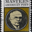 UNITED STATES - CIRCA 1970: stamp printed in USA shows Edgar Lee Masters, circa 1970 — Stock Photo #9445144