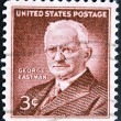 UNITED STATES OF AMERIC- CIRC1954: stamp printed in USshows George Eastman, photography pioneer, inventor and philanthropist, circ1954 — Stock Photo #9445160