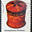 Stock Photo: UNITED STATES OF AMERIC- CIRC1979: stamp printed in USshows PennsylvaniToleware, Folk Art, circ1979