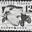 US- CIRC1997 : stamp printed in USshow Americindustrialist, founder of Ford Motor Company Henry Ford, circ1997 — Stock Photo #9445245