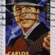 Royalty-Free Stock Photo: UNITED STATES OF AMERICA - CIRCA 2011: A stamp printed in USA shows Carlos Gardel, circa 2011