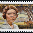 UNITED STATES OF AMERICA - CIRCA 2008: A stamp printed in USA shows Marjorie Kinnan Rawlings, circa 2008 - Stock Photo