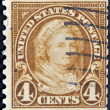 UNITED STATES - CIRCA 1923: A stamp printed in USA shows the image of Martha Washington, circa 1923 — Stock Photo