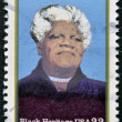 Stock Photo: US- CIRC2000 : stamp printed in USshows Mary McLeod Bethune African-Americeducator and civil rights leader, circ2000