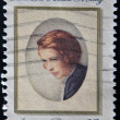 USA - CIRCA 1981: A stamp printed in USA shows a picture of Edna St. Vincent Millay, a famous American Poet, circa 1981 — Stock Photo