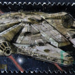 UNITED STATES - CIRCA 2007: stamp printed in USA shows Star Wars, Millennium Falcon, circa 2007 — Stock Photo