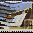Stock Photo: UNITED STATES OF AMERIC- CIRC1983: stamp printed in USshows Tennessee Valley Authority, circ1983