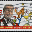 USA - CIRCA 2004: stamp printed in USA shows Theodor Seuss Geisel, an American writer and cartoonist, circa 2004 — Stock Photo