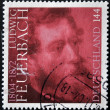 GERMANY - CIRCA 2004: A stamp printed in Germany shows Feuerbach, circa 2004 - Stock Photo