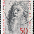 GERMANY - CIRCA 1974: A stamp printed in Germany shows Hans Holbein, circa 1974 — Stock Photo