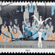GERMANY- CIRCA 1993 : Stamp printed in Germany shows Ballet of Pyotr Tchaikovsky, circa 1993 — Stock Photo