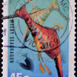 Stock Photo: AUSTRALI- CIRC1998: stamp printed in Australishows Weedy Seadragon - Phyllopteryx taeniolatus, circ1998