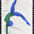 AUSTRALIA - CIRCA 2000: A stamp printed in Australia shows rhythmic gymnastics, circa 2000 — Stock Photo