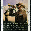 Stock Photo: AUSTRALI- CIRC2008: stamp printed in Australishows bugler, circ2008
