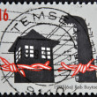 BELGIUM - CIRCA 1995: A stamp printed in Belgium dedicated to Liberation from the Camps, circa 1995 — Stock Photo #9449030