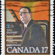 CANAD- CIRC1980: stamp printed in Canadshows Healey Willan, organist, composer, circ1980 — Stock Photo #9449112